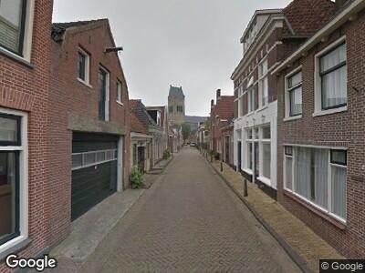 Brandweer naar Kerkstraat in Bolsward vanwege brand