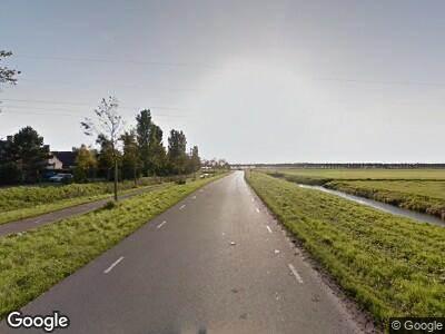 Ambulance met gepaste spoed naar Droge Wijmersweg in Wervershoof