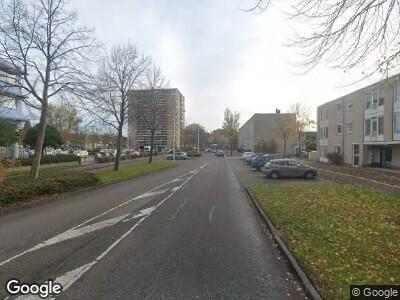 Ambulance met grote spoed naar Dr. Willem Dreesweg in Amstelveen