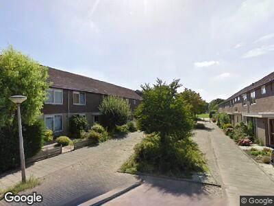 Brandweer met gepaste spoed naar Hoefbladstraat in Alphen aan den Rijn