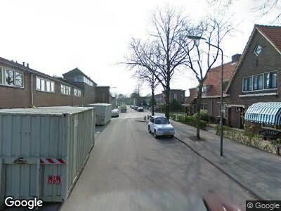 Ambulance met gepaste spoed naar Willem Marisstraat in Dordrecht