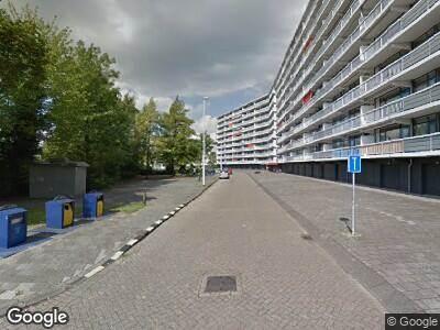 Ambulance met gepaste spoed naar Andries van Bronckhorstlaan in Spijkenisse