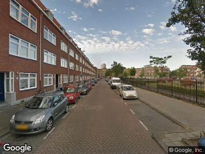 Ambulance met gepaste spoed naar Millinxstraat in Rotterdam