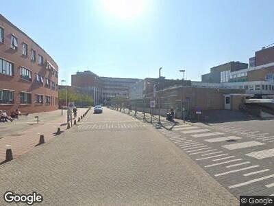 Ambulance met grote spoed naar Maelsonstraat in Hoorn