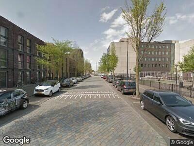 Ambulance met grote spoed naar Franz Zieglerstraat in Amsterdam