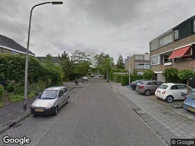 Ambulance met gepaste spoed naar 't Kerkestuk in Reeuwijk