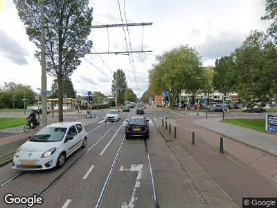Ambulance met gepaste spoed naar Dedemsvaartweg in 's-Gravenhage