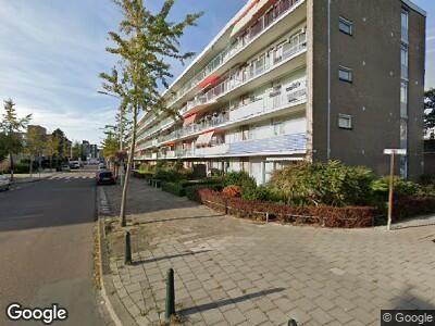 Ambulance met gepaste spoed naar Willem III straat in 's-Gravenhage