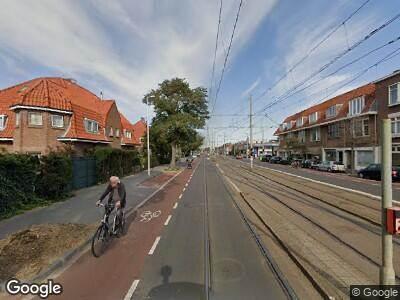 Ambulance met gepaste spoed naar Laan van Meerdervoort in 's-Gravenhage