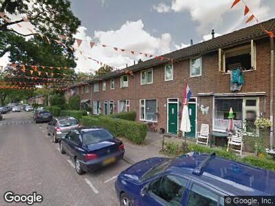 Ambulance met grote spoed naar Struweel in Rotterdam