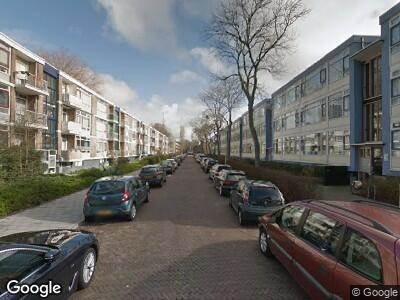 Ambulance met grote spoed naar Coevordenstraat in 's-Gravenhage