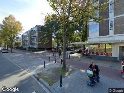 Ambulance met grote spoed naar Bouwlustlaan in 's-Gravenhage