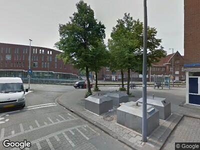 Ambulance met gepaste spoed naar Sandelingplein in Rotterdam