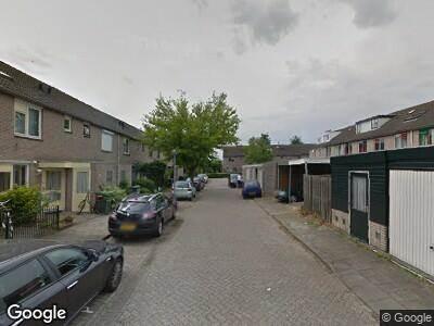 Politie naar Gershwinstraat in Almere vanwege aanrijding met letsel