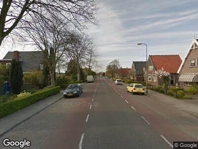 Ambulance naar Simon Koopmanstraat in Wervershoof vanwege verkeersongeval