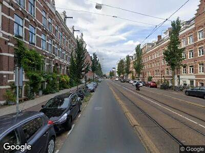 Brandweer met grote spoed naar Wijttenbachstraat in Amsterdam