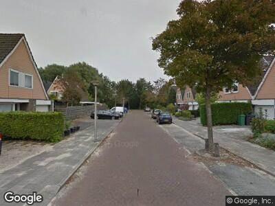 Traumahelikopter met grote spoed naar Guido van Dethlaan in Amstelveen