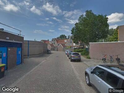 Ambulance naar 't Spil in Monnickendam vanwege verkeersongeval