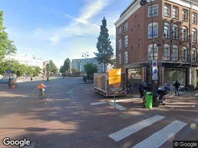 Brandweer met gepaste spoed naar Eerste Van Swindenstraat in Amsterdam