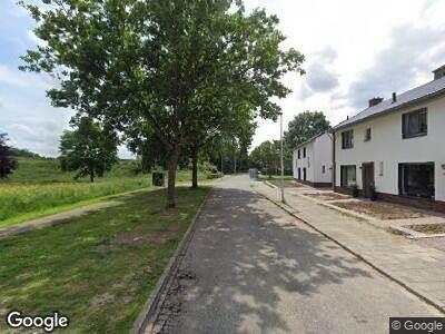 Brandweer met gepaste spoed naar Kasteel Neubourgweg in Maastricht