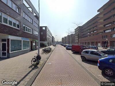 Besteld ambulance vervoer naar Ottho Heldringstraat in Amsterdam