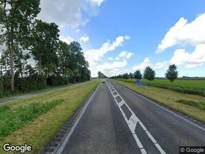 Politie naar Biddingringweg in Dronten vanwege aanrijding met letsel