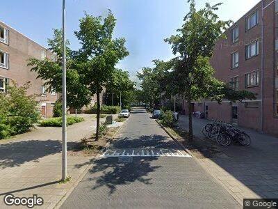 Brandweer met gepaste spoed naar Poederooienstraat in Amsterdam