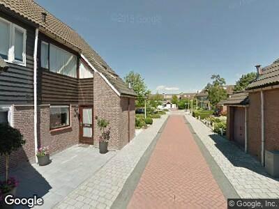 Brandweer met grote spoed naar Zonnedauw in Reeuwijk