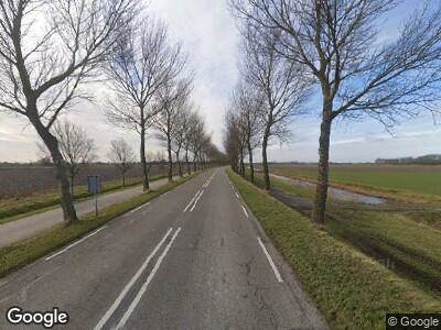 Politie met grote spoed naar Oudedijk in Kortgene vanwege letsel