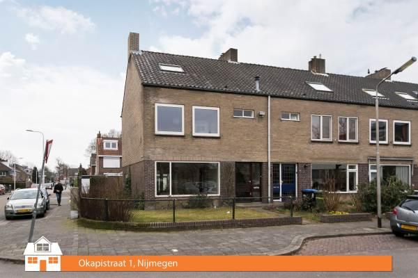 Woning okapistraat 1 nijmegen for Huis nijmegen