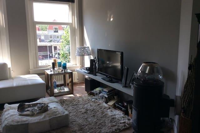 top appartement in uniek straatje
