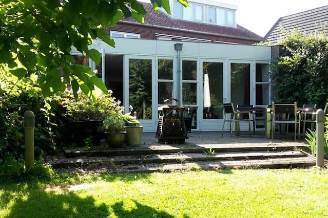 Nice Family House with big garden near Utrecht