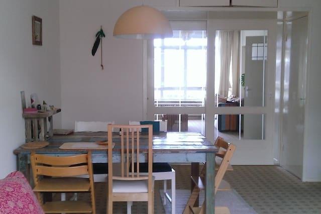 Heerlijk rustig, licht appartement