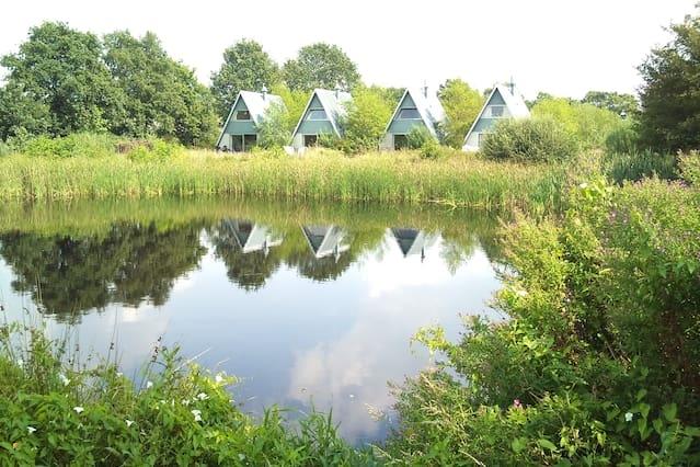 Natuurlijke ruimte in Friesland!
