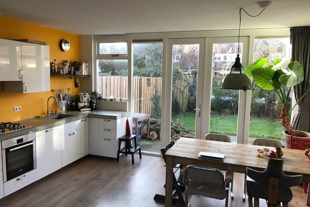 Big and cozy family house in North of Amsterdam
