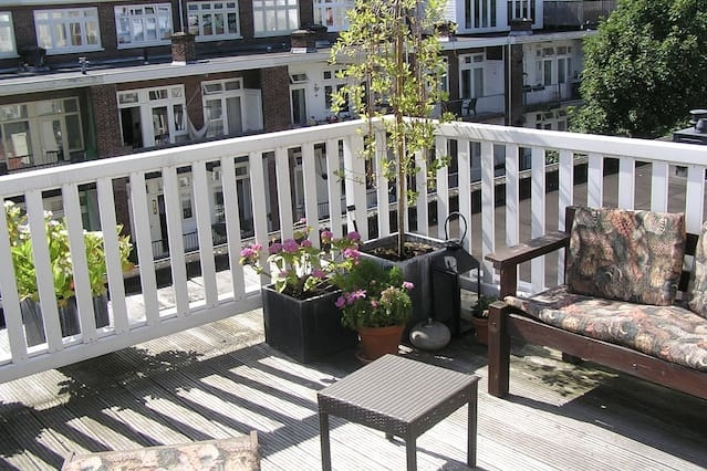 Amsterdam apartment with terrace
