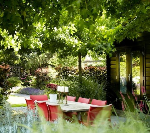 Huis in tuin op geweldige plek