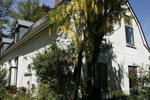 Vrijstaand charmant huis in unieke groene omgeving