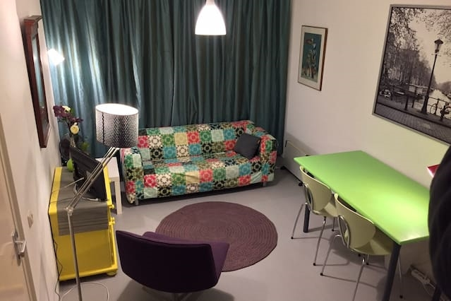 Nice room in A'dam SE near nature and heart centre