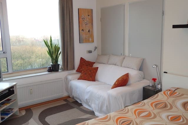 Peaceful Rooms Amsterdam with View