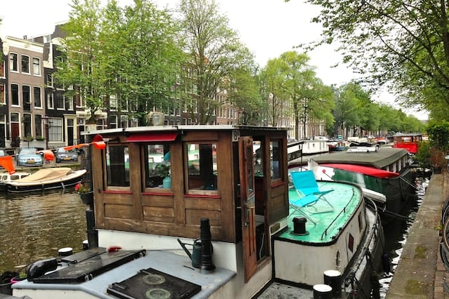The Captains cabin on the canal