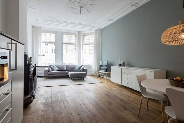 Gezellig en licht appartement, Den Haag, Duinoord