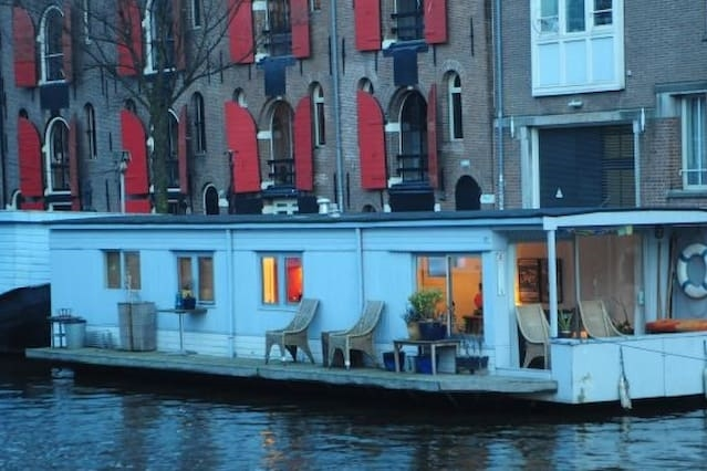 White Houseboat Prinsengracht