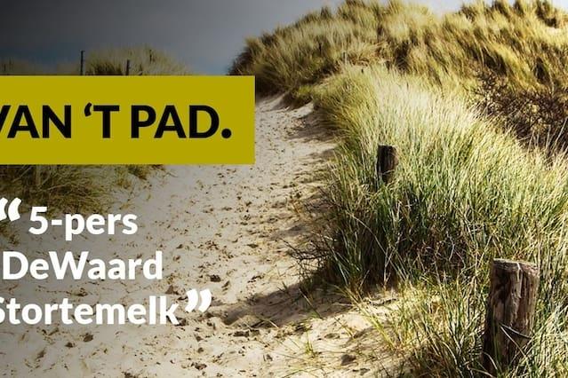 5-pers. De Waard op Vlieland, 60 sec van strand!