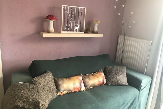 Gezellig appartement in prachtige herfstsfeer