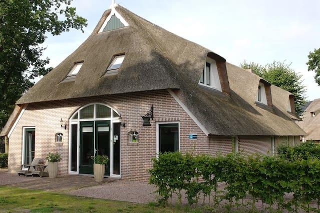 Luxe kamer in mooi Drents dorp nabij Assen