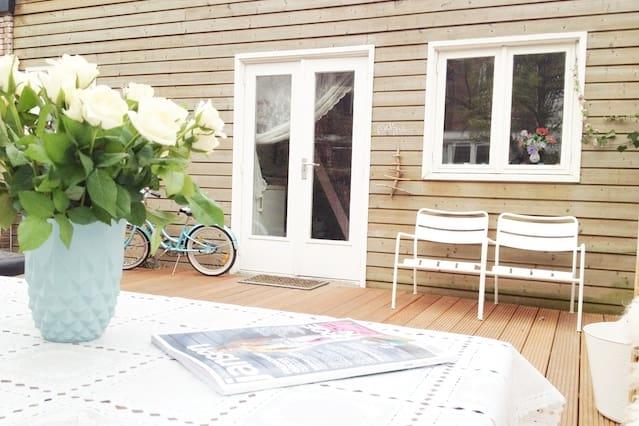 SONSBEEK B&B, quiet garden home.