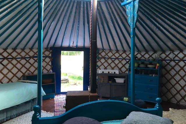 Yurt in Ecostay de Wildernis