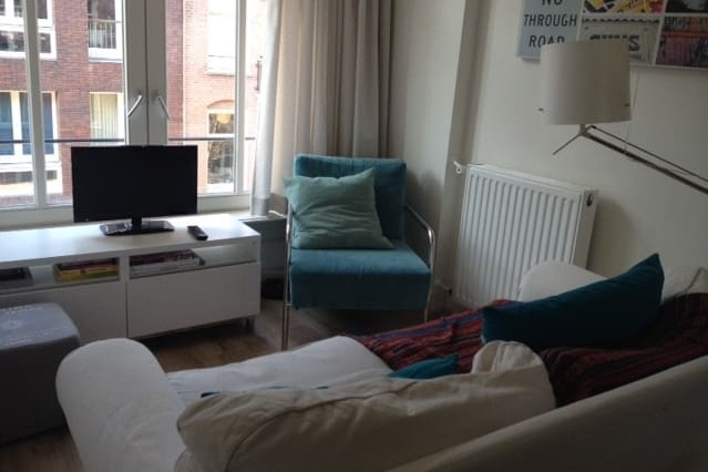Cosy studio close to the Amstel with a Balcony