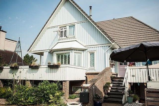 Luxe Zweedse woning 'Het Blauwe Huis'